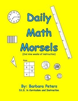 Daily Math Morsels #2 (Grades 3 - 4)