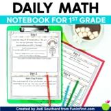 Daily Math Notebook {1st Grade Edition}