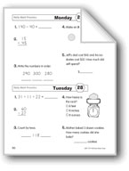 Daily Math Practice (Grade 2, Week 28)