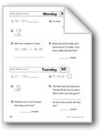 Daily Math Practice (Grade 2, Week 30)