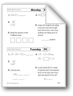 Daily Math Practice (Grade 2, Week 35)