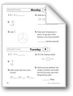 Daily Math Practice (Grade 2, Week 4)