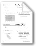Daily Math Practice, Grade 4: Week 16