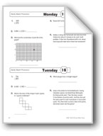Daily Math Practice, Grade 4: Week 16
