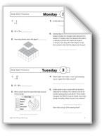 Daily Math Practice, Grade 4: Week 3