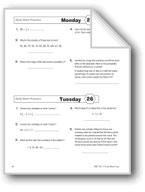 Daily Math Practice (Grade 6, Week 26)