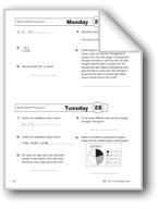 Daily Math Practice (Grade 6, Week 28)