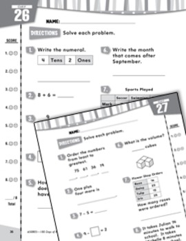 Daily Math Practice for Second Grade (Week 6)