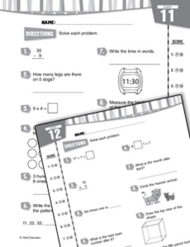 Daily Math Practice for Third Grade