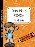 Daily Math Review  First Grade Spiral Math Review