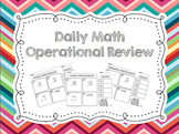Daily Math Review Homework Pack