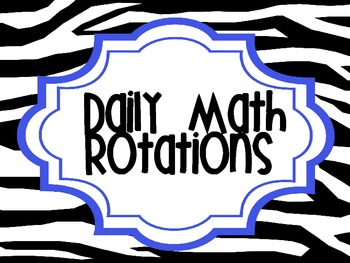 Daily Math Rotations