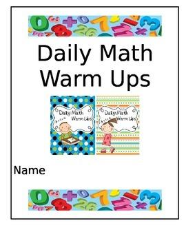 Daily Math Warm Ups