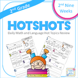 2nd Grade Daily Math and Language Hot Topics Review - 2nd