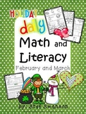 Daily Math and Literacy Winter {February and March} Mornin
