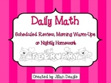 Daily Math for 2nd or 3rd Grade: February Edition