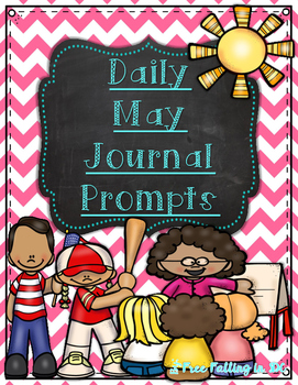 Daily May Journal Prompts (differianted journal prompts fo