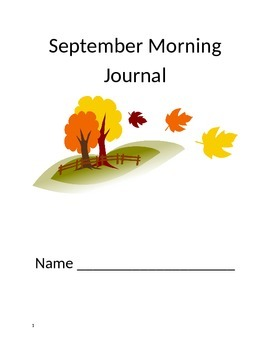 Daily Morning Journal Prompts