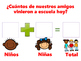 Daily Morning Routine Attendance Visual in English and Spanish