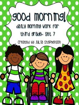 Daily Morning Work- Set 7