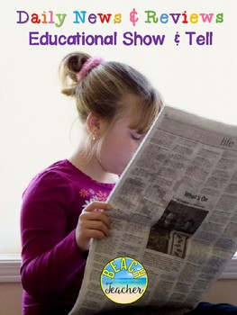 Reporter of the Day: Daily News and Reviews (Show & Tell)