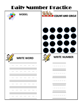 Daily Number Sense Practice