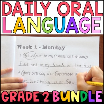 Daily Oral Language (DOL) BUNDLE: Aligned to the 2nd Grade CCSS