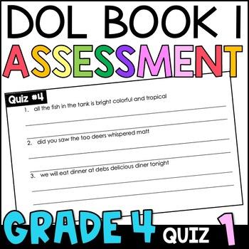 Daily Oral Language (DOL) Quiz Set #1: Aligned to 4th Grad