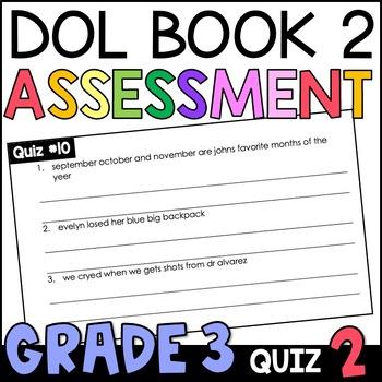 Daily Oral Language (DOL) Quiz Set #2: Aligned to 3rd Grad