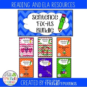 Daily Oral Language - Froggy's Fix-it!  Holiday Bundle- Se
