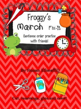 Daily Oral Language - Froggy's Fix-it! Morning Work - Marc
