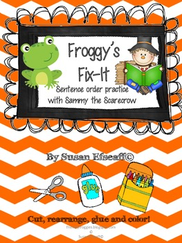 Daily Oral Language - Froggy's Fix-it!  Sentence Order Fal