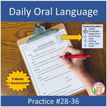 Daily Oral Language Practice Weeks 18-24