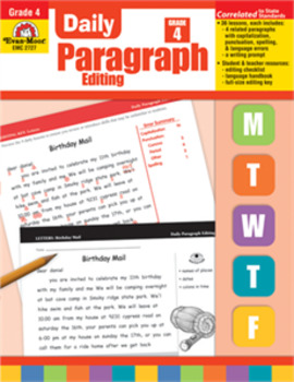 Daily Paragraph Editing Grade 4 HARD COPY
