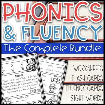 Daily Phonics Based Fluency~ The Complete Bundle