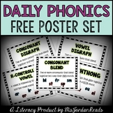 """Daily Phonics"" Posters (FREE)"
