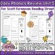 Daily Phonics Review Bundle Units 1-5