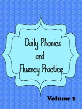 Daily Phonics and Fluency Practice Volume 2