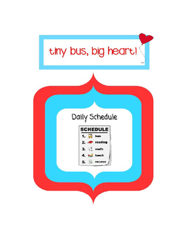 Daily Picture Schedule: Picture Supports/Cards