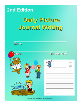 Daily Picture Writing Journal 2nd Edition for Nine Weeks ELA