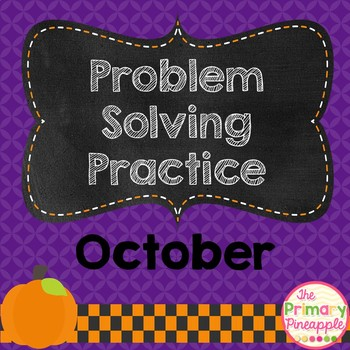 Daily Problem Solving for October