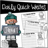 January Daily Quick Writes