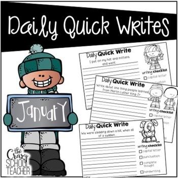 Daily Quick Writes {January}