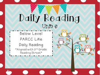 Daily Reading Unit 6
