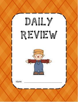 Daily Review: Fall