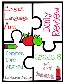 Daily Review for ELA (Common Core Aligned)
