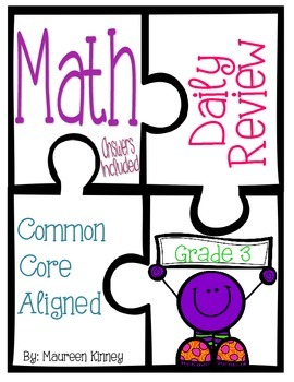 Daily Review for Math (Common Core Aligned)