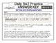 Daily SAT Math Practice Week 5: Simple Interest Compound Interest