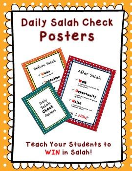 Daily Salah Check Posters