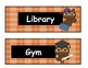 Daily Schedule Labels (Owl Theme)